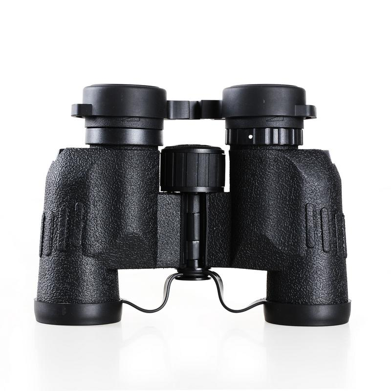 6 colors 8X32 waterproof  binocular telescope hd 8X magnifying binoculars kids  BAK4 Hunting Porro Green compact BinocularsDH061