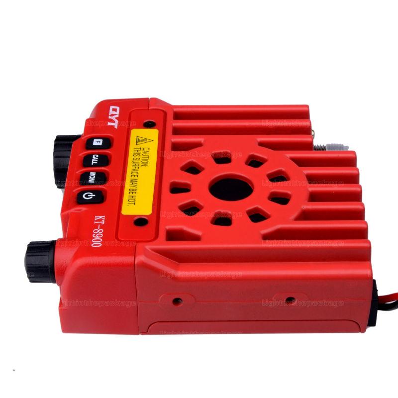 Mini car radio QYT KT-8900 136-174400-480MHz dual band mobile transicever walkie talkie KT8900 (9)