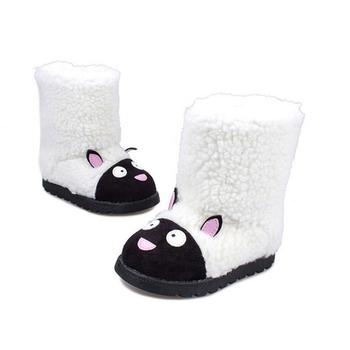 2015 новых детей зимние сапоги девушки милые туфли мультфильм цвет с низким трубки короткие сапоги тепло хлопок ребенок снега сапоги S110255