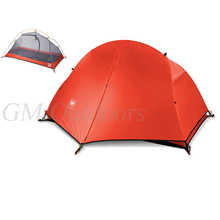FREE SHIPPING Super Light Outdoor Tent For 1 Person Waterproof 4 Season Use Outdoor Hiking Picnic Camping Fishing Relax with Mat(China (Mainland))