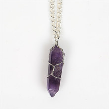 crystal point pendant price