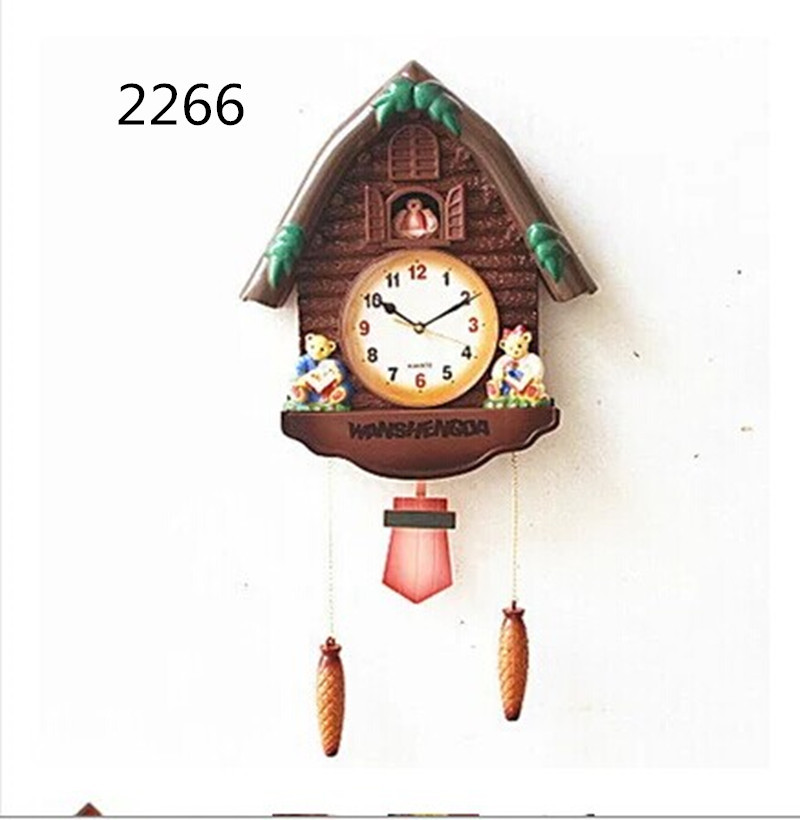 Moldbaby Rushed Direct Selling Freeshipping Wall Clocks Reloj Pared Cartoon Fashion Quartz Clock Child Wall Chime Pendulum Music(China (Mainland))