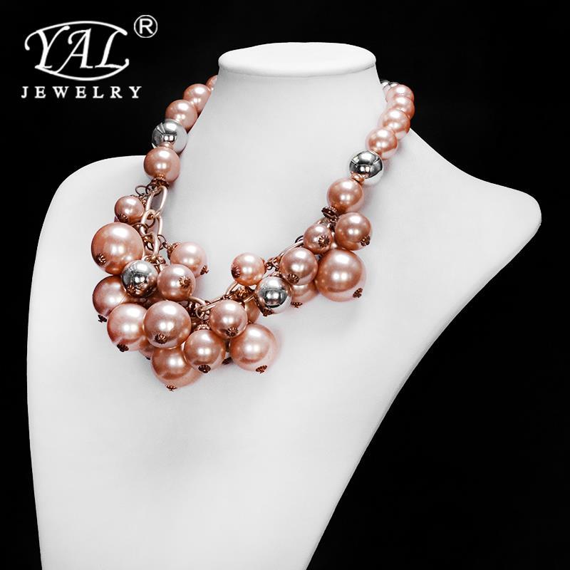 G28     Fashion Womens Resin Flower Choker Bib Statement Necklace Collar Chain Pendant 01TB 4BFR<br><br>Aliexpress