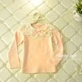 Aamina Princess Cotton t shirt for girls spring autumn girls tops wholesale baby boutique children