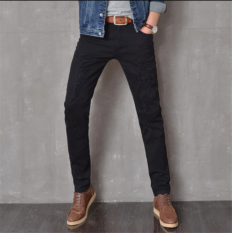 High Quality Black Jeans Men Swag-Buy Cheap Black Jeans Men Swag ...
