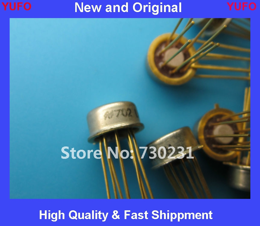 Free Shipping LM316AH LM316 Linear IC Operational Amplifier National Semi 8pin Gold Can NOS ic(China (Mainland))