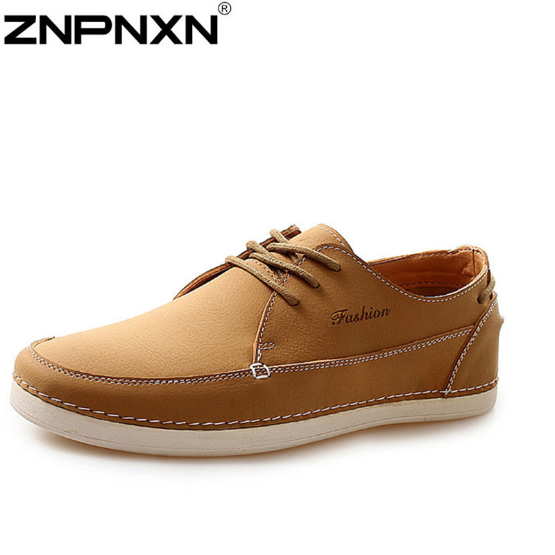 Genuine leather Men flats shoes,Handmade Men Casual leather shoes,Leather Moccasin,Fashion Men Driving Shoes Oxford for men