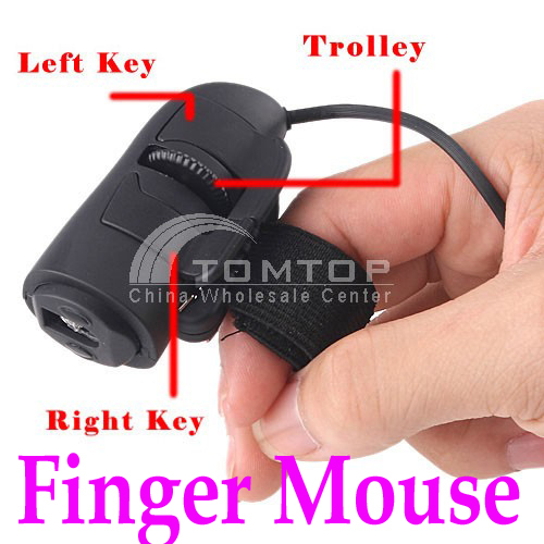 USB 3D Mini Optical Finger Mouse Mice for Laptop Notebook PC 800DPI Novelty Item Wholesale(China (Mainland))
