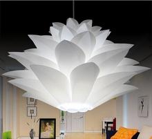 Buy 55CM Lotus Light Flower Pendant Light Material PVC Shape Fixture Pendent DIY Lampshade Bedroom LED Hanging Lamp 35cm/45cm for $16.88 in AliExpress store