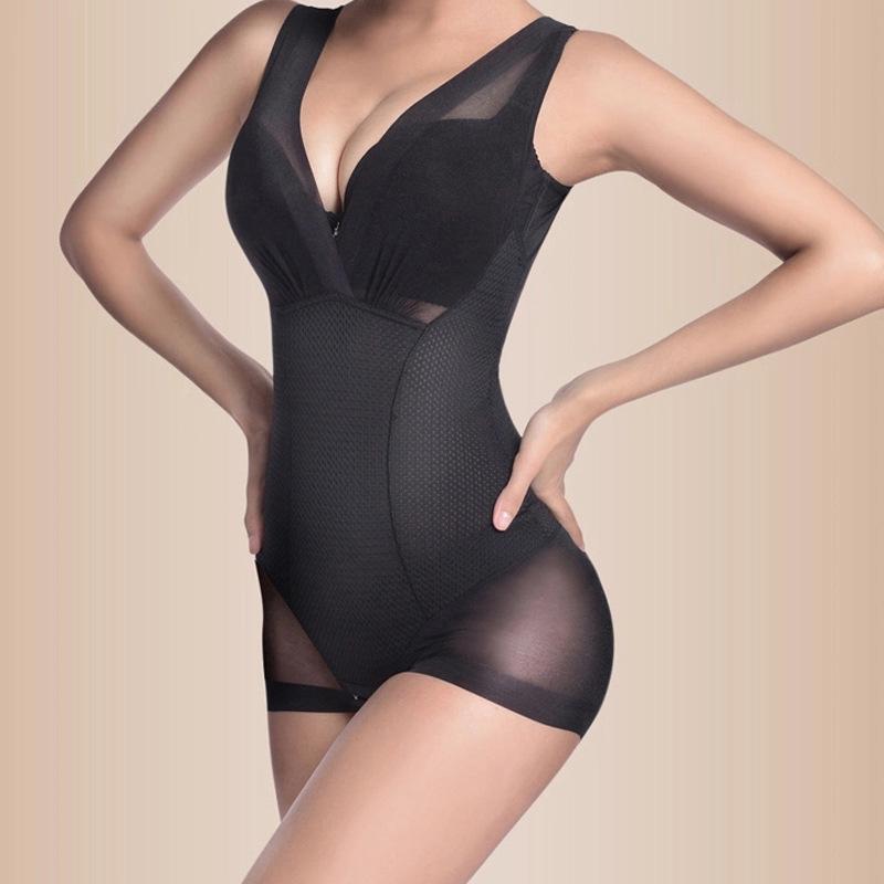 Magic sexy Women losing weight Corset spandex Slimming waist tummy trimmer bodysuit Body Shaping lift chest Shapewear(China (Mainland))