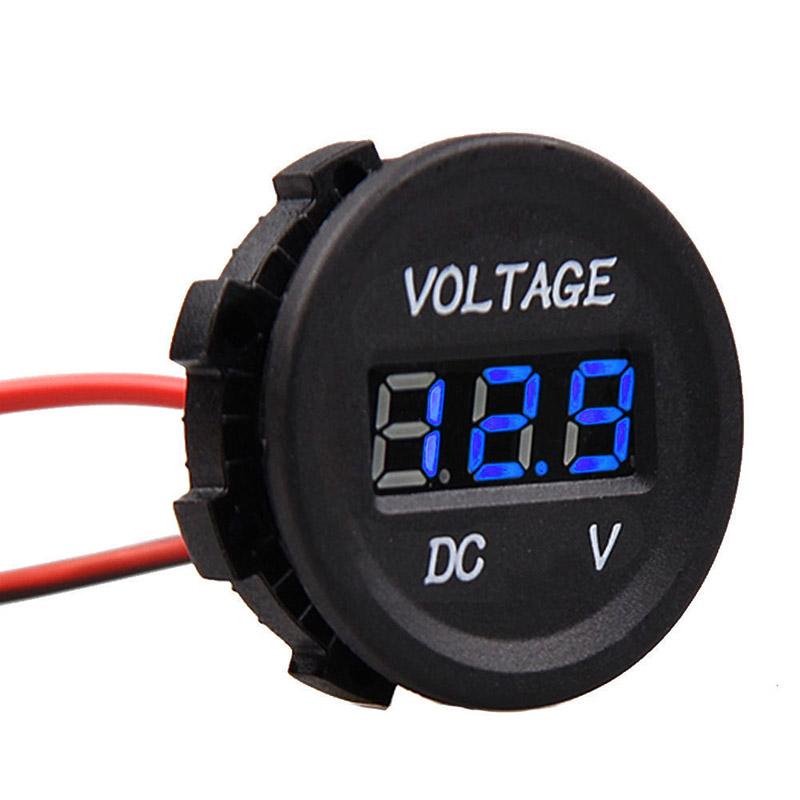 Digital Voltage Meter For Car : Dc v to led display car digital voltmeter electric
