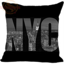 Buy P=W2 Hot Sale New York City &2 Pillowcase 40x40cm (One side) Pillow Case Cotton Pillow cover Y1121p-UFP-2 for $3.56 in AliExpress store