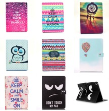 HAKUNA MATATA + Dream Catcher + Sleepy Owl + Don't touch my Pad PU Leather Case Cover For Apple iPad Mini 4 Tablet Protect Shell