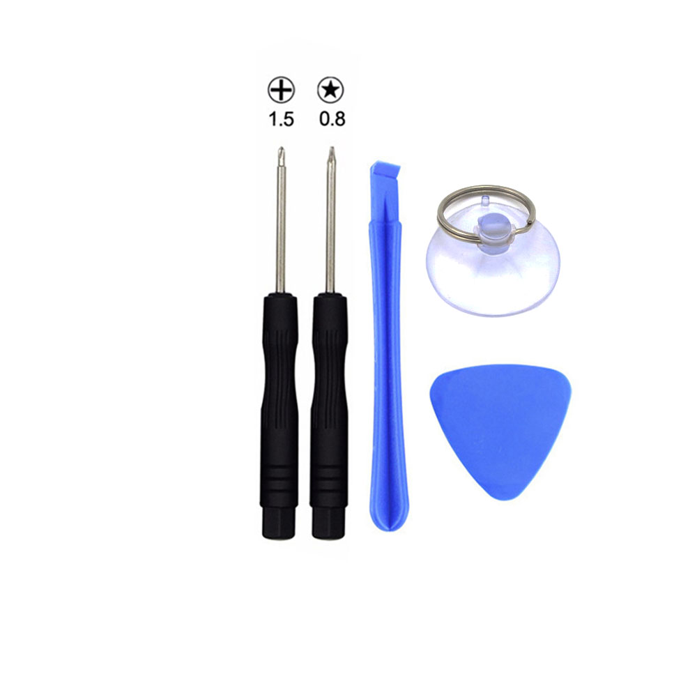 5 In 1 PH000 Phillips 1.5 5-Point Star Pentalobe 0.8 Screwdriver Set Disassemble Repair Kit for iPhone 4 4S 5 5S