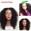 2015 Best Unprocessed Virgin Brazilian Curly Full Lace Wig Glueless Full Lace Human Hair Wigs for