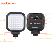 Original Godox LED36 LED Video Light 36 LED Lights Lamp Photographic Lighting 5500~6500K for DSLR Camera Camcorder mini DVR(China (Mainland))