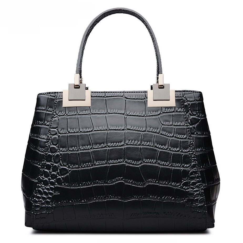 Famous brands top quality dermis women bag  2016 new crocodile pattern handbag Fashion large capacity messenger bag<br><br>Aliexpress