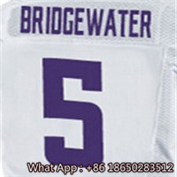 100% Stitched With Customized #5 Teddy #14 Stefon #22 Harrison #28 Adrian #55 Anthony Men's Purple White Jersey(China (Mainland))