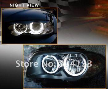 Free  shiping CCFL Angel Eyes Lamp Lights ring for BMW E46 white lighting