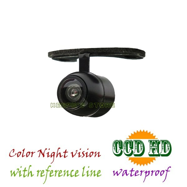 auto ccd car camera Universal/front /Rear/Forward-looking 170 wide angle waterproof external hanging night vision PAL/NTSC(China (Mainland))