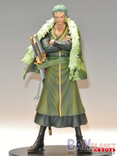 Free Shipping One Piece Zoro 15th Anniversary Action Figure Roronoa Zoro Doll PVC ACGN figure Toys Brinquedos Anime 17CM KB0591