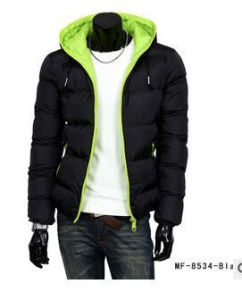 mens winter jacket hooded wadded coat outerwear male slim casual cotton outdoors outwear down jacket M L XL XXL XXXL(China (Mainland))