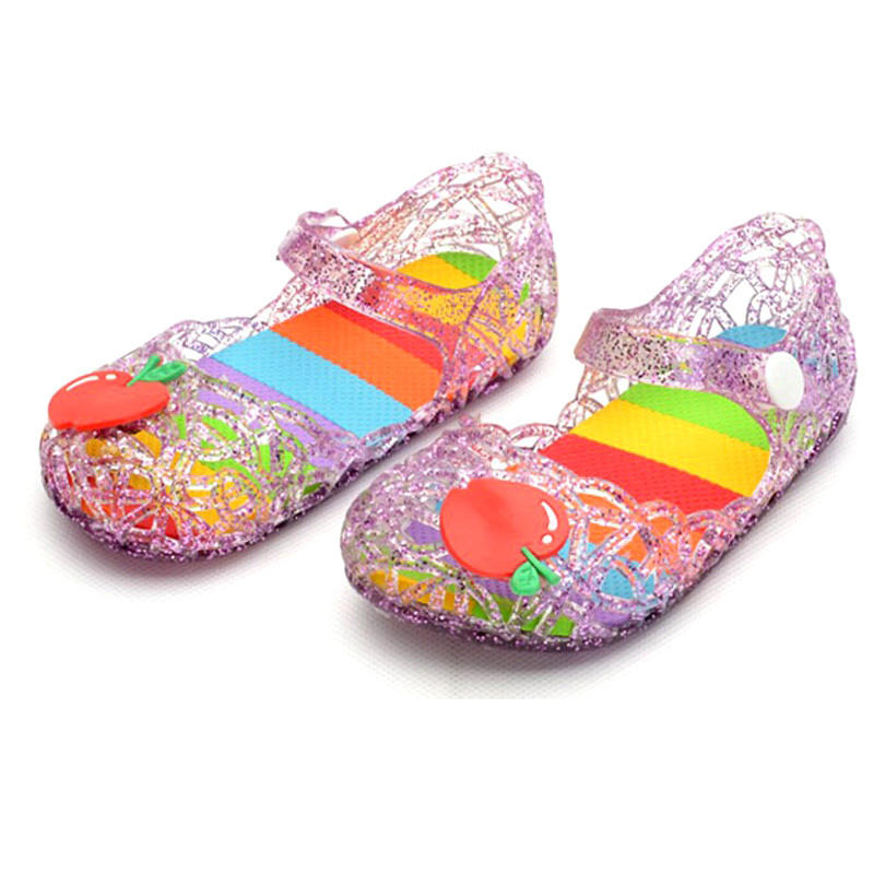 Children Beach Sandals Baby girls shoes Princess hollow out Flower Design Kids Shoes for Girl children sandals 2015(China (Mainland))