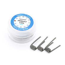 Buy 5pcs/box Electronic Cigarette Vape replacement Wire Staggered fused premade Coil 0.4ohm DIY RDA RBA Atomizer Vaporizer for $3.95 in AliExpress store