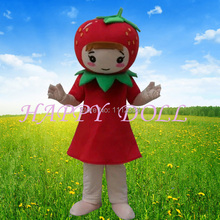 Mascot costumes for adult carnival cartoon costumes plant strawberry