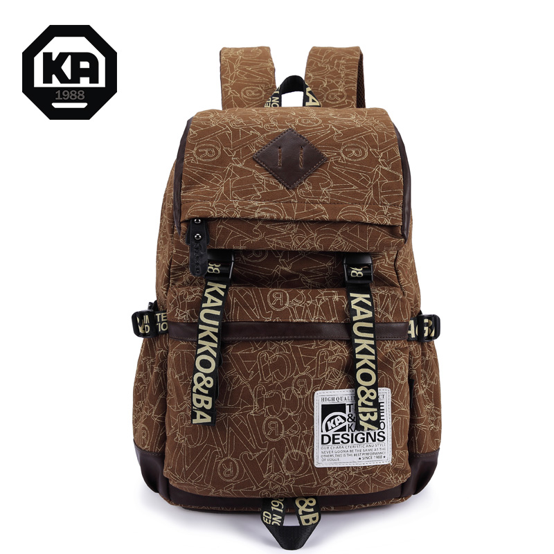 women couple personality canvas large capacity backpacks school shoulder bags daily hiking travel men - Chic Choc Bag Store store