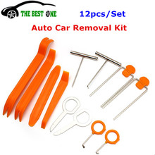 Buy Auto Car Accessories 12pcs/Set Automotive Car Radio Panel Door Clip Trim Dash Audio Fast Removal Installer Pry Repair Tool Kit for $4.50 in AliExpress store