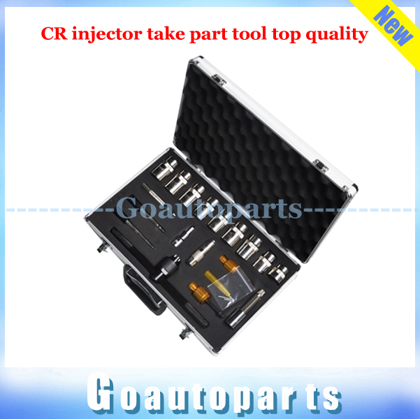 Free shipping common rail injector dismantle tool kit 20pcs CR injector take part tool Top Quality CRSI handtool(China (Mainland))