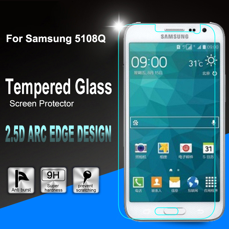 0.26mm Premium Tempered Glass Screen Protector Film + Clean Tool For G5108Q G5109 SM-G5108Q SM-G5109 G510F Core max(China (Mainland))