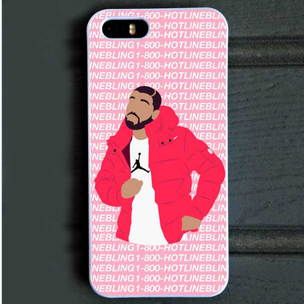 Poor Crying Drake Hard Cover Back Case for iPhone SE 4S 5C 5s 6 6s Plus Hotline bling if you are reading this please buy my case(China (Mainland))