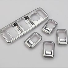 ABS Chrome Door Window Swith Control Panel Cover Trim For Mercedes Benz A W176 B W246 C W204 E W212 CLA W117 CLS W218 GLK