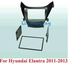 For 177*99.6mm Size Car Frame Dash Kit / Car Fascias for Hyundai Elantra 2011 2012 2013 Free Shipping