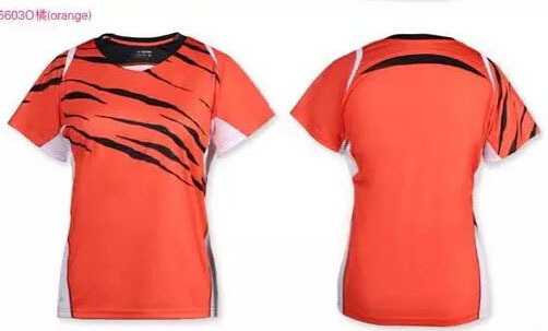 Badminton sports shirts,badminton shuttlecock sportswear short-sleeved shirts,Breathable Quick Dry Polyester Tennis Shirts M-4XL(China (Mainland))
