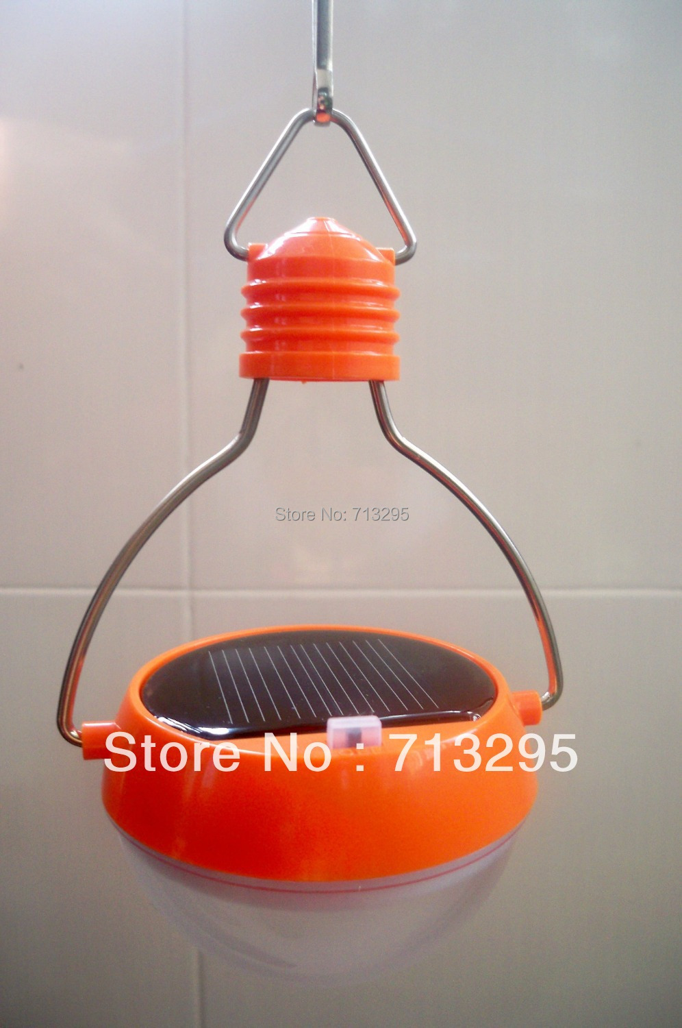 Novelty Solar LED Lamp Portable 100% Waterproof Outdoor solar light bulbs solar camping lantern ...
