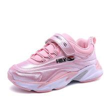 HOBIBEAR ספורט ילדים סניקרס בני נעליים יומיומיות ילדים Sneaker בנות נעלי הספר פועל מאמני בית ספר מהירות הנעלה 2018(China)