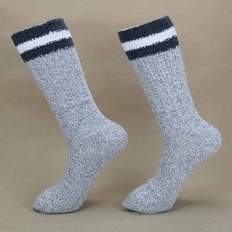2016 Winter Brand Wool Women/Men Socks Warm Coolmax Outdoor Casual Sport Boot Socks For Womam/Man Black Grey Thick Sock 2PK XP35(China (Mainland))