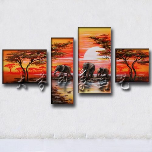 Abstract Group painting,fine art,landscape,decoration,reproduction paintings YX-GP20(China (Mainland))