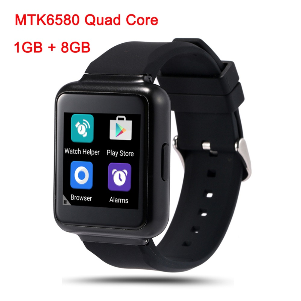 Newest Q1 Smart Watch 3G Android 5.1 Bluetooth Wifi 1GB+8GB Support Google app download Voice search Smartwatch Phone(China (Mainland))