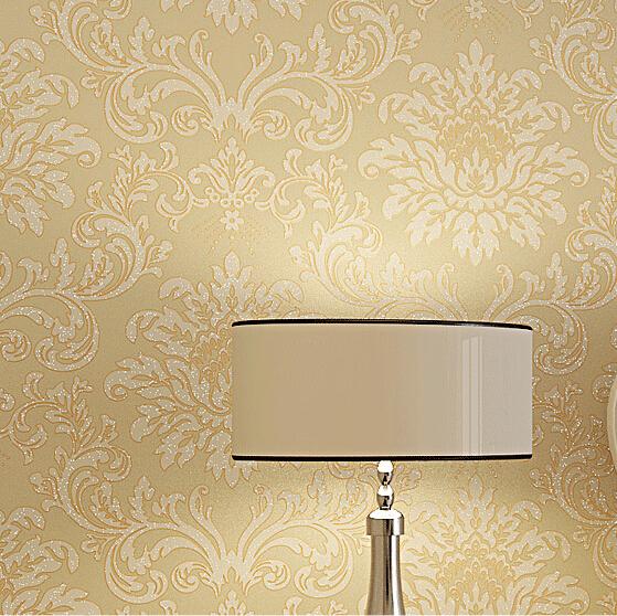 Buy europe modern textured glitter damask for Living room wallpaper texture