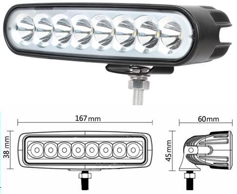 6.5inch 40W MINI LED BAR 12V 24V LED WORK LIGHT SPOT FLOOD FOG LAMP FOR OFF ROADBOAT TRUCK ATV 4x4 LED DRIVING LIGHT(China (Mainland))