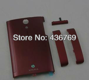 Red New full housing cover Case for Sony XPERIA ION LT28i LT28H LT28 with TOP Bottom HOUSING Cover Base