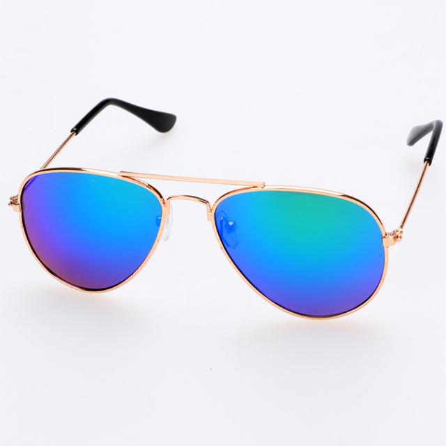 Новые классические дети детские девушки солнцезащитные очки уф-защитой, Оптовые Unisex Дети мальчики Солнцезащитные Очки UV400 солнцезащитные очки 6 цветов
