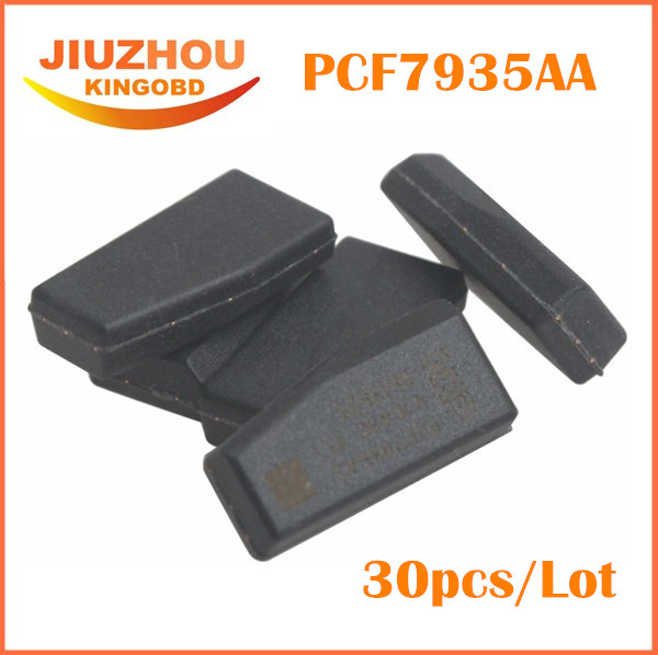 PCF7935AS/PCF7935 /PCF 7935 id44 Auto Transponder Chip For Car Keys PCF7935AS ID 44 Auto Key Programmer+30PCS + HKP Free(China (Mainland))