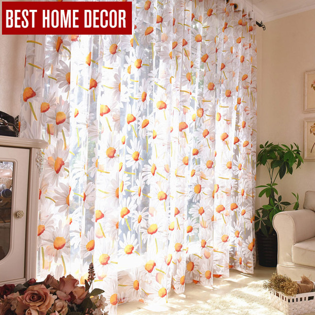Buy Best Home Decor Drapes Sheer Window