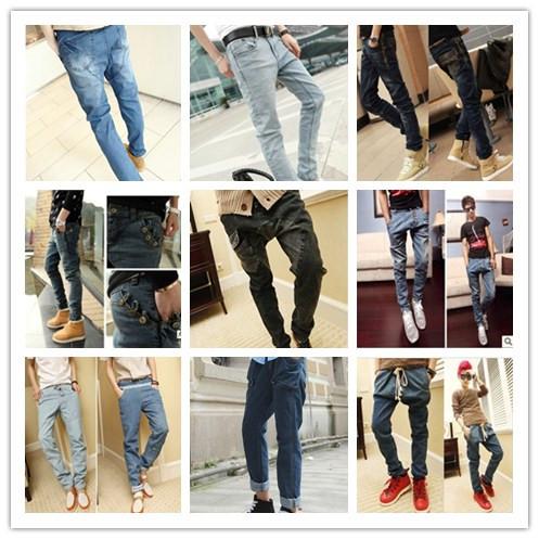 Мужские джинсы New 2014 hiphop mens jeans