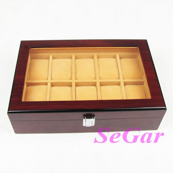 Wooden Watch Display Box Wooden Watch Display Case